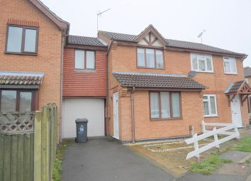 Thumbnail 3 bed terraced house to rent in Haywood Close, Evington, Leicester