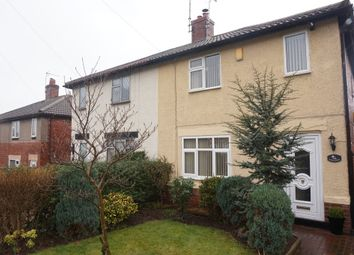Thumbnail 2 bed semi-detached house to rent in Churchfields, Creswell, Worksop