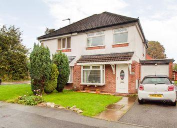Thumbnail 3 bed semi-detached house for sale in Tweedsmuir Close, Warrington, Warrington