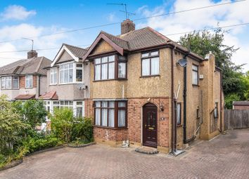 Thumbnail 3 bedroom semi-detached house for sale in Station Road, Gidea Park, Romford