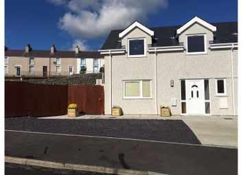 Thumbnail 3 bed semi-detached house for sale in Ffordd Wynfa, Holyhead