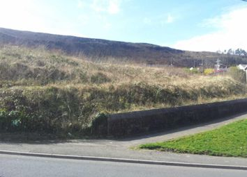 Thumbnail  Land for sale in Llanwonno Road, Mountain Ash