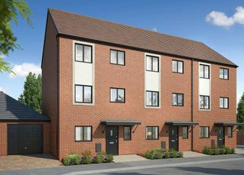 "Thumbnail 4 bed town house for sale in ""The Grassington"" at Westlake Avenue, Hampton Vale, Peterborough"