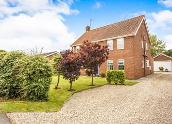 Thumbnail 4 bed equestrian property for sale in Burgh Road, Orby, Skegness, Lincolnshire