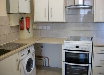 Thumbnail 4 bed flat to rent in Napier Road, London