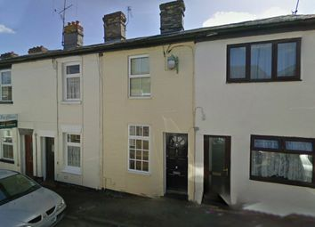 Thumbnail 2 bed terraced house to rent in Eden Road, Haverhill, Suffolk