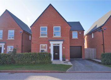 Thumbnail 3 bed detached house for sale in Crossley Avenue, Wigan