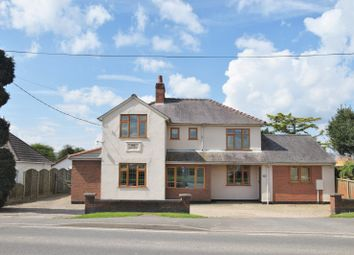 Thumbnail 4 bed detached house for sale in Ibstock Road, Ravenstone