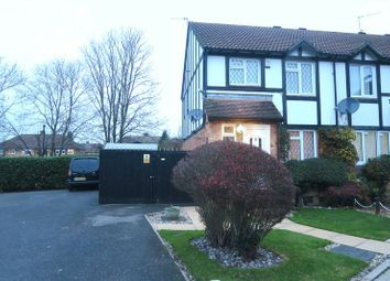 Thumbnail 3 bed end terrace house for sale in Ennerdale Close, Feltham