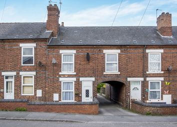 Thumbnail 3 bed terraced house for sale in Belper Road, Stanley Common, Ilkeston