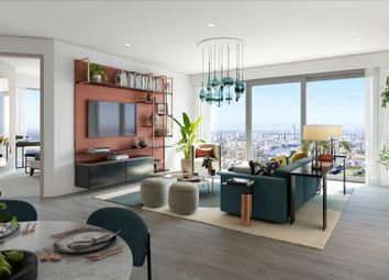 Thumbnail 3 bed flat for sale in Consort Place, Marsh Wall