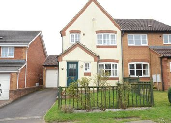 Thumbnail 3 bed semi-detached house for sale in Marcheria Close, Bracknell, Berkshire