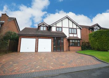 Thumbnail 4 bed detached house for sale in Perryford Drive, Hillfield, Solihull