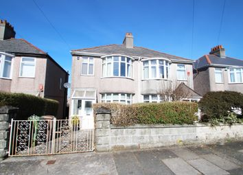 Thumbnail 3 bed semi-detached house for sale in Merrivale Road, Beacon Park, Plymouth