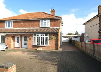 Thumbnail 3 bed semi-detached house for sale in Cozens-Hardy Road, Sprowston, Norwich