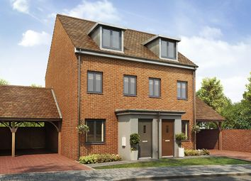 "Thumbnail 3 bed semi-detached house for sale in ""The Souter"" at Southfleet Road, Swanscombe"