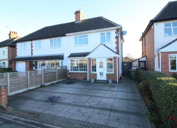 Thumbnail 5 bed semi-detached house for sale in Grove Road, Blaby, Leicester