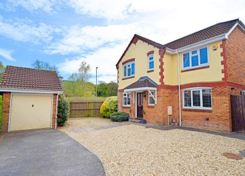 Thumbnail 4 bed detached house for sale in Clover Drive, Culllompton