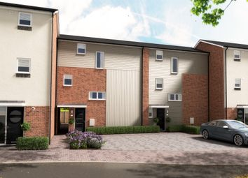 Thumbnail 4 bed town house for sale in Hawkins Lane, Burton-On-Trent