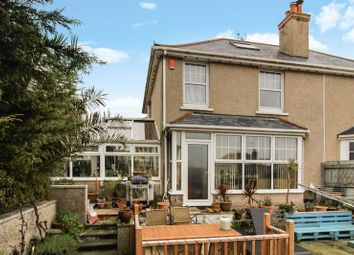 Thumbnail 3 bed semi-detached house for sale in Park Rise, Falmouth