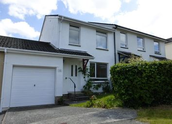 Thumbnail 3 bed end terrace house to rent in Hawks Park, Lower Burraton, Saltash