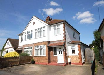 Thumbnail 1 bed semi-detached house to rent in Albert Road, Englefield Green, Surrey