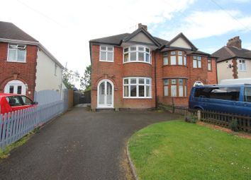 Thumbnail 3 bed semi-detached house for sale in Cowper Road, Burbage, Hinckley