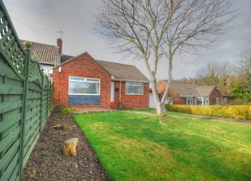 Thumbnail 2 bedroom semi-detached bungalow for sale in Woodman Close, Morpeth