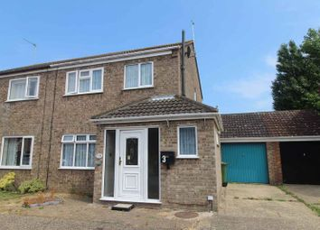 Thumbnail 3 bed semi-detached house for sale in Turin Way, Hopton, Great Yarmouth