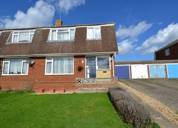 Thumbnail 3 bed semi-detached house for sale in Freemans Close, Seasalter, Whitstable