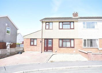Thumbnail 3 bed semi-detached house for sale in Llys Aneirin, Garden Village, Gorseinon