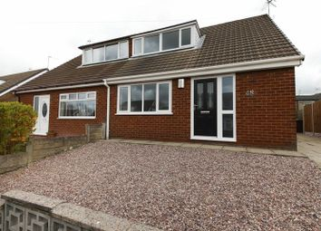 Thumbnail 3 bed semi-detached house for sale in Martland Crescent, Beech Hill, Wigan