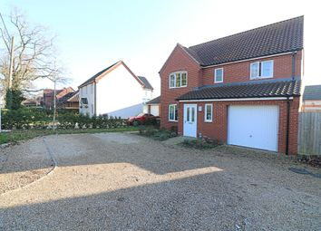 Thumbnail 4 bed detached house for sale in Roydon Road, Roydon, Diss