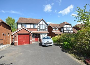 Thumbnail 4 bed detached house for sale in Roman Way, Kirkham, Preston, Lancashire