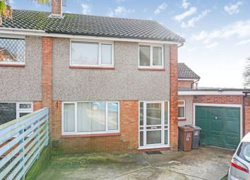 Thumbnail 4 bed semi-detached house for sale in St. Austin Close, Ivybridge