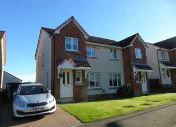 Thumbnail 3 bed semi-detached house for sale in Brambling Road, Carnbroe, Coatbridge, North Lanarkshire