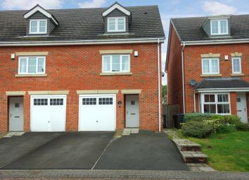 Thumbnail 3 bedroom town house for sale in Ashtree Gardens, Millhouse Green, Sheffield