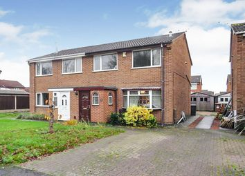 Thumbnail 3 bed semi-detached house for sale in Eggesford Road, Stenson Fields, Derby