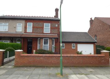 Thumbnail 5 bed semi-detached house for sale in Cambridge Avenue, Crosby, Liverpool