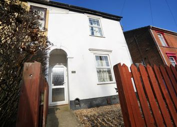 Thumbnail 2 bedroom semi-detached house for sale in Cavendish Street, Ipswich