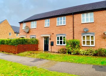 Thumbnail 3 bed terraced house to rent in Sunbeam Way, New Stoke Village