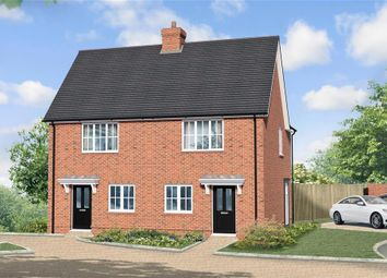 Thumbnail 2 bed semi-detached house for sale in Keepers Cottage Lane, Evabourne, Wouldham, Rochester, Kent