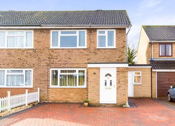 Thumbnail 3 bed semi-detached house for sale in Nene Road, Eaton Ford, St. Neots