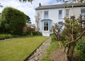 Thumbnail 3 bed semi-detached house to rent in Veryan, Truro