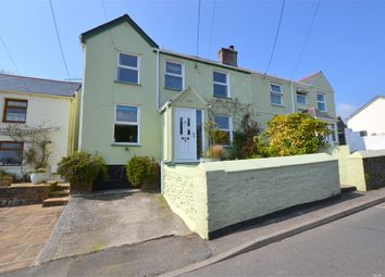 Thumbnail 4 bed semi-detached house for sale in Headland Terrace, Top Hill, Grampound Road, Truro