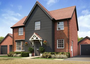 """Thumbnail 4 bed detached house for sale in """"Mitchell"""" at Caistor Lane, Poringland, Norwich"""