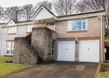 Thumbnail 5 bed detached house for sale in Gwel-An-Nans Close, Liskeard