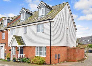 Thumbnail 5 bed end terrace house for sale in Hazen Road, Kings Hill, West Malling, Kent