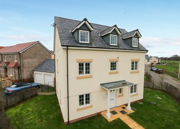 Thumbnail 5 bed detached house for sale in Post Coach Way, Cranbrook, Exeter