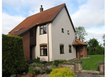 Thumbnail 4 bed detached house for sale in The Common, Mellis